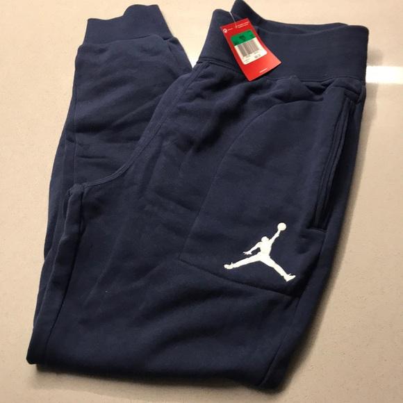 8029c46fdc55c7 NWT Men s Nike  Jumpman  Fleece Jogger